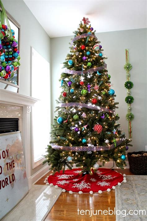white christmas tree decorations pictures ten june diy pinwheel garland craft