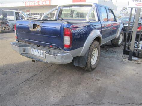 nissan navara 2003 nissan navara d22 3 3 v6 petrol man 2003 wrecking