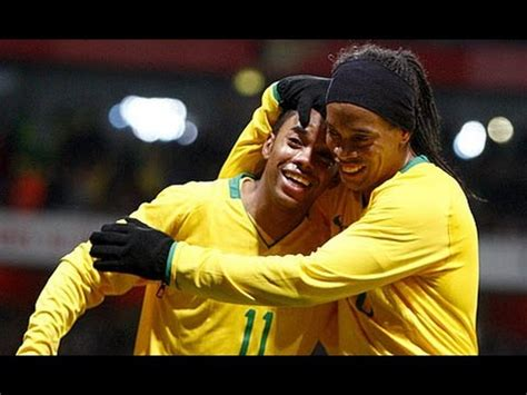 best of robinho ronaldinho robinho best football skills