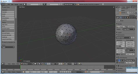 Blender Yang Kecil this is my membuat bola dengan blender