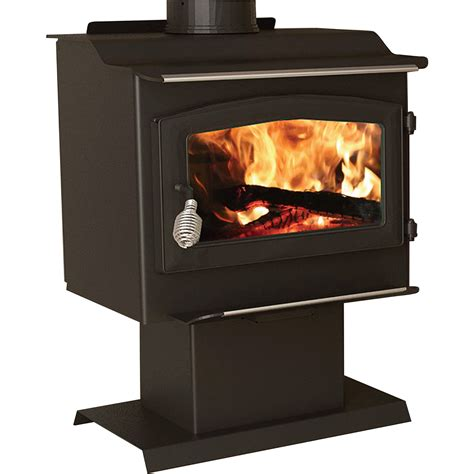 United States Stove Company Epa Certified Pedestal Heater With Blower 40 000 Btu Model