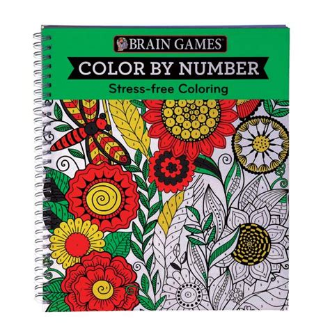 by the numbers books brain color by number brain book easy comforts