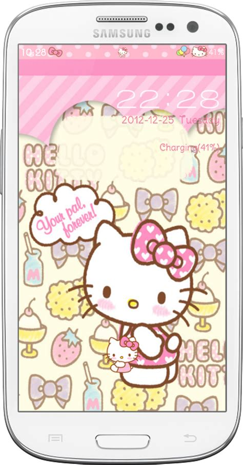 go locker themes hello kitty mobile9 pretty droid themes hello kitty go lockers