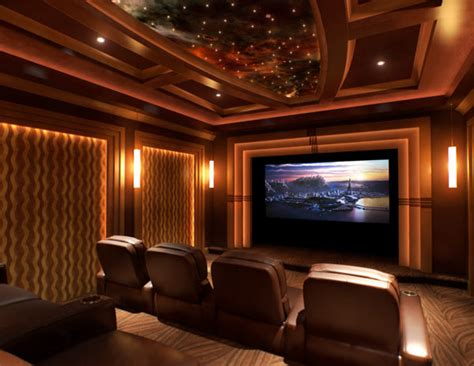 custom home theater rooms media and family room design