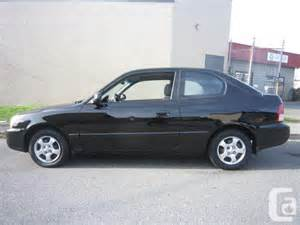 2002 Hyundai Accent Gs 2002 Hyundai Accent Gs Only 99km For Sale