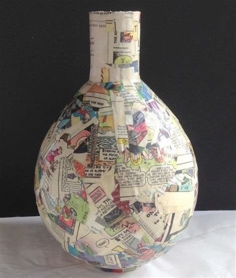 how to decoupage a vase decoupage napkins on paper mache vases 183 how to make a