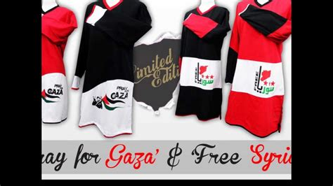 design t shirt muslimah terkini t shirt muslimah pray for gaza free syria youtube