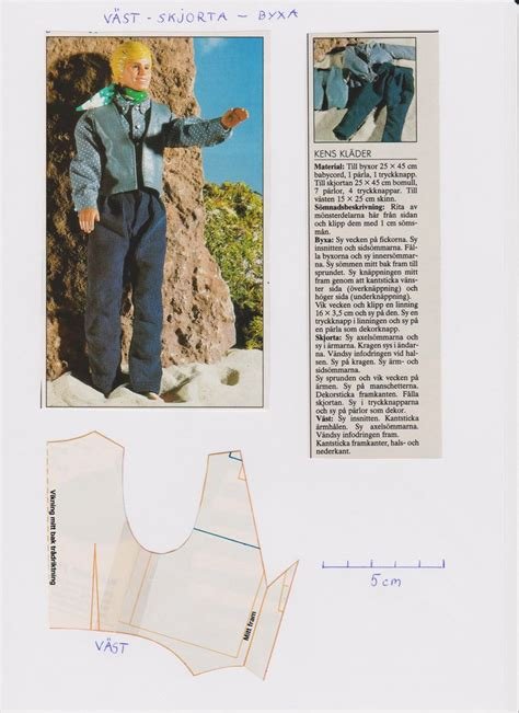 pattern for ken clothes 94 best ken male doll outfits images on pinterest doll