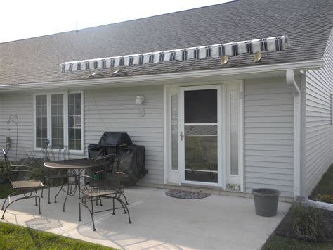 sunset awnings sunsetter awnings quincy il doors n more