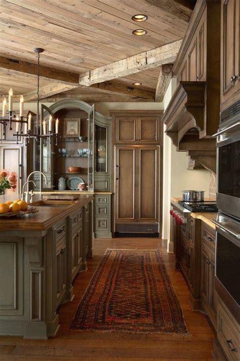 cabin kitchens ideas cabin kitchen kitchen ideas pinterest