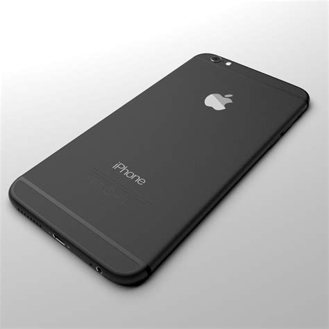 apple iphone 6 and 6 plus all color 3d model max cgtrader
