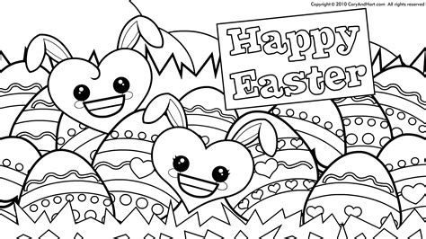 easter color pages and crayola coloring glum me inside egg