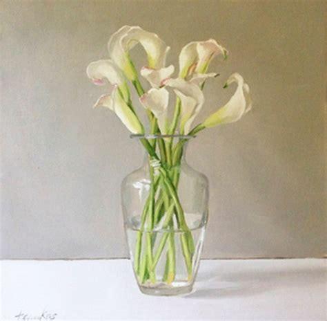 arreglos florales en floreros de vidrio cuadros pinturas oleos arreglos florales cartuchos en