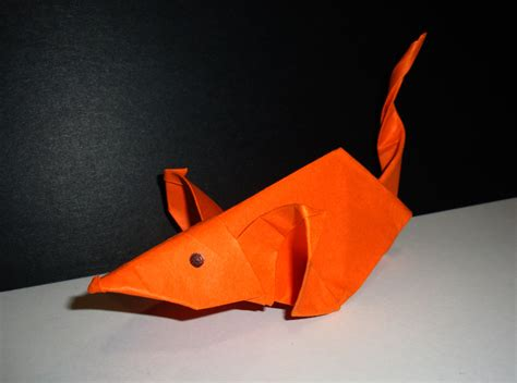 Rat Origami - 7 origami rat sort of by mossmess on deviantart