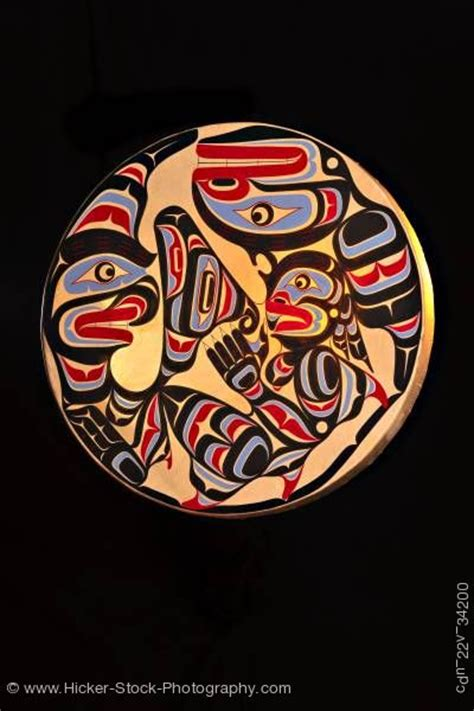 first nation tattoo artist vancouver native art wooden drum first nations native art northern