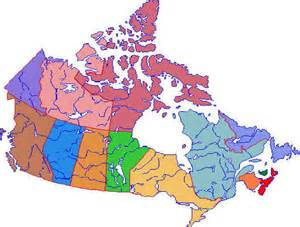 political map of canada canada political map