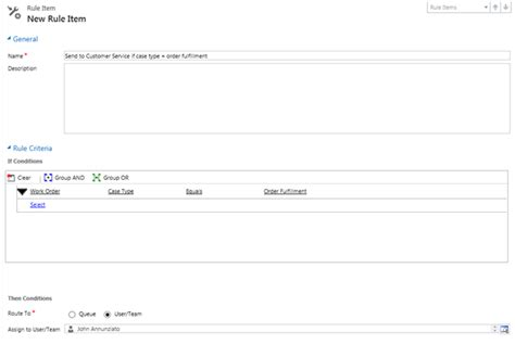 routing rules new microsoft dynamics crm 2013 case routing rules