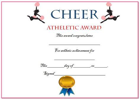cheerleading certificate templates free 20 free printable cheerleading certificate templates for
