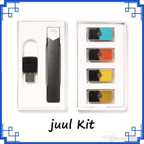 Vape Juul Clone 1 clone juul kits newest cbd vaporizer starter kits with 4 pods 4 different flavours black smart