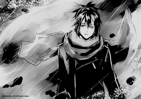 anime black and white boy cool image 536776 on favim