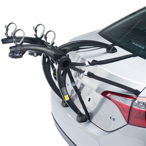 Car Trunk Bike Rack by Saris 805bl Bones Black 2 Bike Car Trunk Mount Bicycle