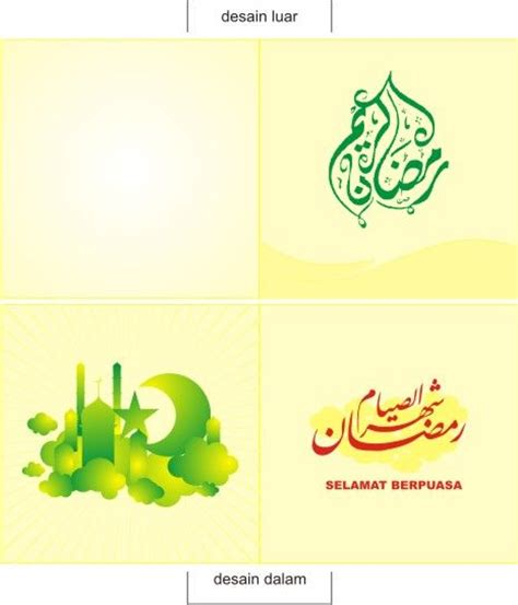 cara membuat kartu ucapan selamat ramadhan pin kad ucapan menyambut ramadhan on pinterest cara