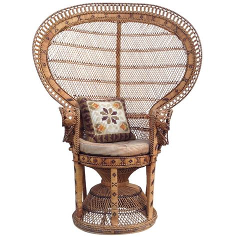 Rattan Peacock Chair by Free Shipping Worldwide Chair 70 S Emmanuelle