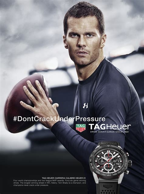 tag heuer ads guzman photograph tom brady s highly publicized tag heuer
