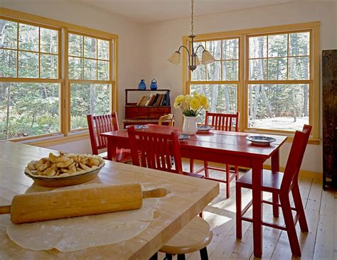 red dining room table how to create a sensational dining room with red panache