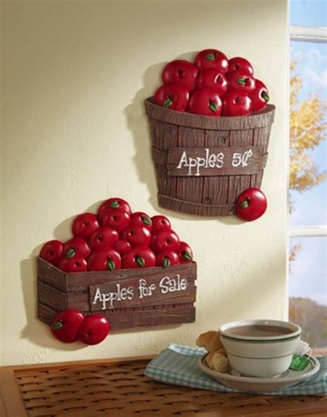 Apple Decor For Kitchen by Bushel Of Apples Kitchen Wall Decor Apples Decor More