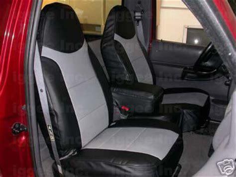 ford ranger seat covers ebay ford ranger 1989 1996 leather like custom seat cover ebay