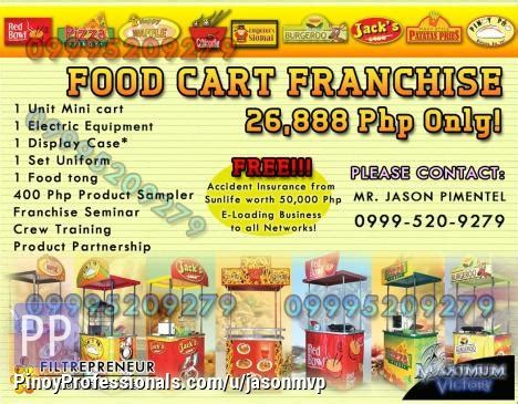 food cart franchise below 50k best food cart business cheapest food cart franchise business with low capital