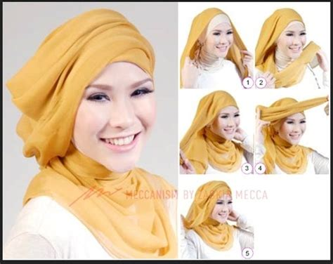 tutorial hijab segi empat modern 2014 gaun remaja model 2015 hairstyle gallery