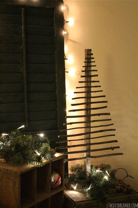 easy decorative twig christmas tree christmas decor