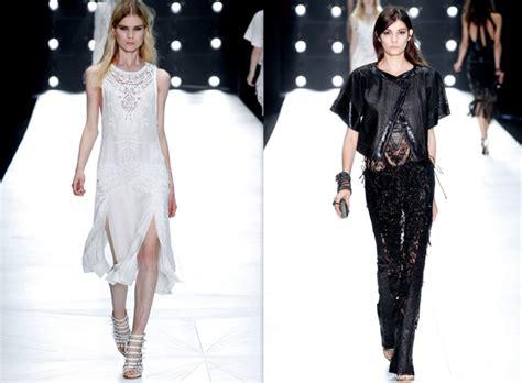 Milan Fashion Week Gucci Roberto Cavalli by Fashion Highlight Daring Details Via Gucci Roberto