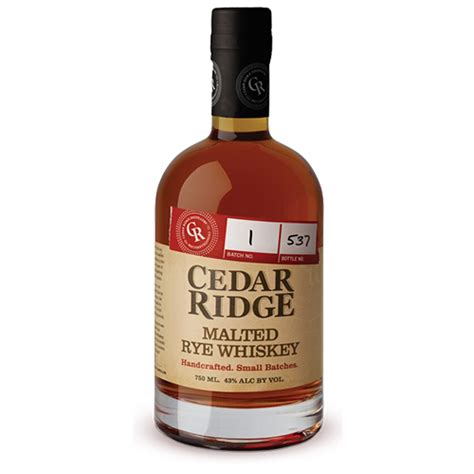 Handcrafted Whiskey - cedar ridge whiskey handcrafted and award winning whiskey