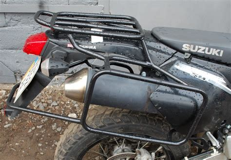 Drz400 Luggage Rack by Complete Rack Side Carrier Luggage Rack System For Suzuki