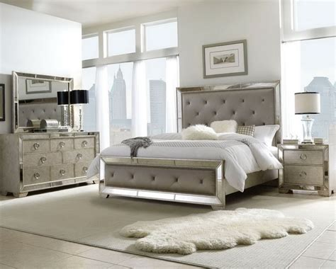 mirrored furniture bedroom set mirrored bedroom furniture set hayworth mirrored lingerie