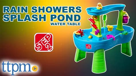 2 showers water table showers splash pond water table playset for