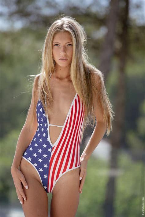 Krystal Boyd Strips Off Her Swimsuit