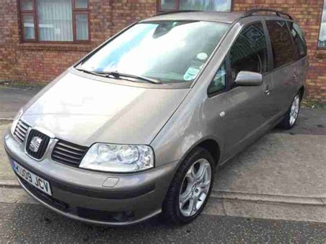 seat alhambra stylance for sale seat 2009 alhambra stylance tdi silver car for sale