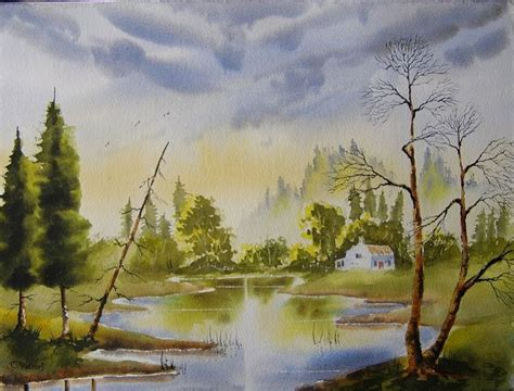 watercolor lake tutorial 414 best aquarelle tutorials images on pinterest