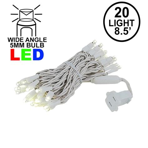mini led lights white wire mini light sets 20 light white wire clear bulb