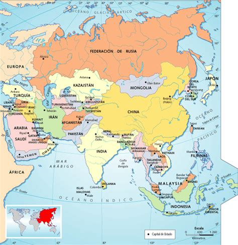 asia y africa mapa politico croquis mapa de asia imagui
