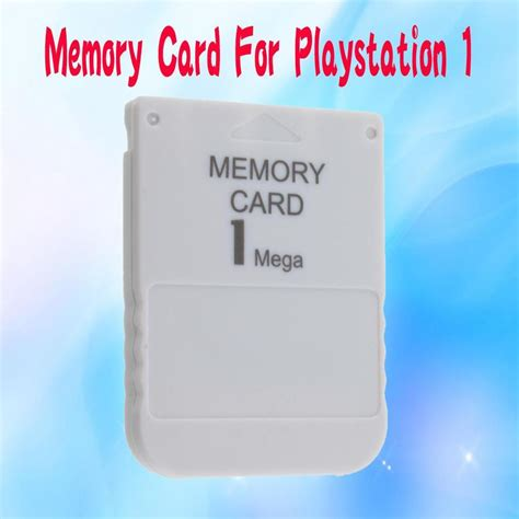 Memory Card Ps1 memory card for playstation 1 one ps1 psx new on