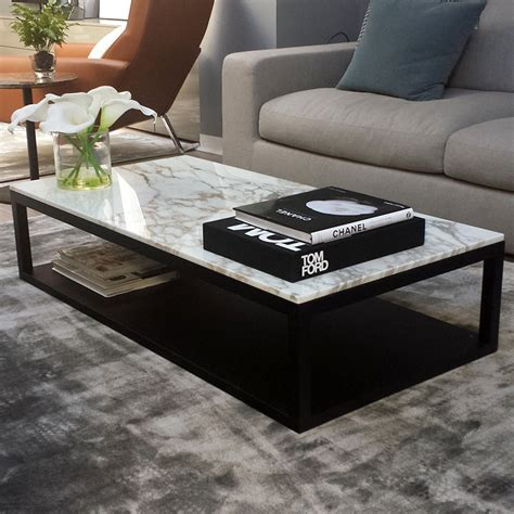 large marble coffee table verona marble wood coffee table