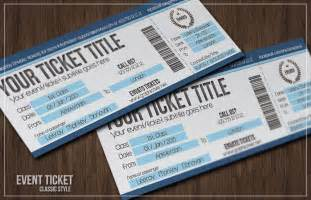 Event Ticket Template by Best 30 Event Ticket Templates In Psd Word Excel Pdf