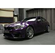 BMW M3 In Twilight Purple Looks Stunning