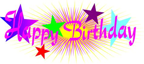 happy birthday clipart happy birthday pictures clipart clipartxtras