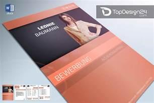 Bewerbungsmappe Design Vorlage Deckblatt Design Word Vorlage Topdesign24